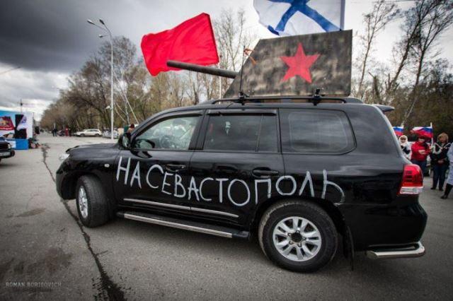 Хит-парад самых крутых военных автомобилей в честь 9-го мая в России
