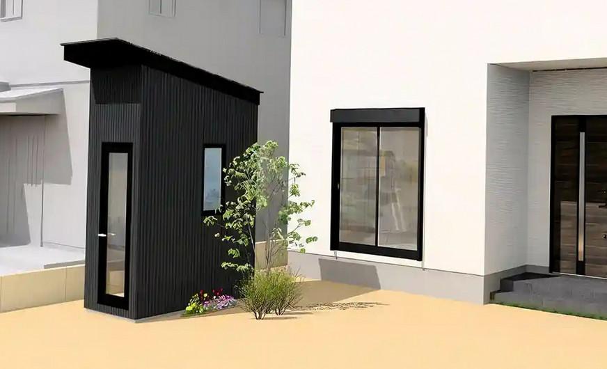 fdlx.com Мини-дом Hanare Zen: в Японии продают компактный офис за 5 тысяч долларов