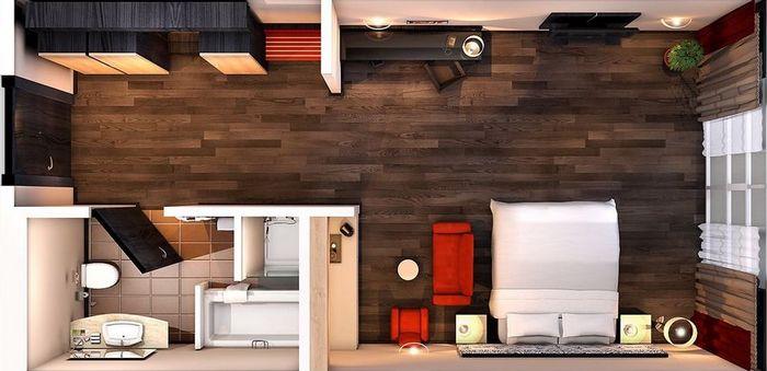 планировки смарт квартир