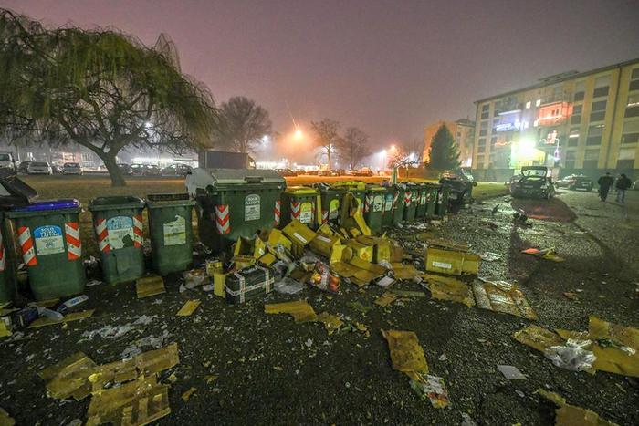 В Италии взорвалась самодельная бомба: пострадали несколько человек