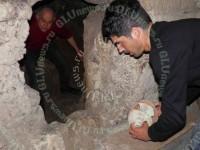 Итальянец обнаружил древнюю гробницу во время ремонта сантехники