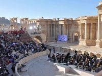 Россия устроила шоу в сирийской Пальмире (видео)