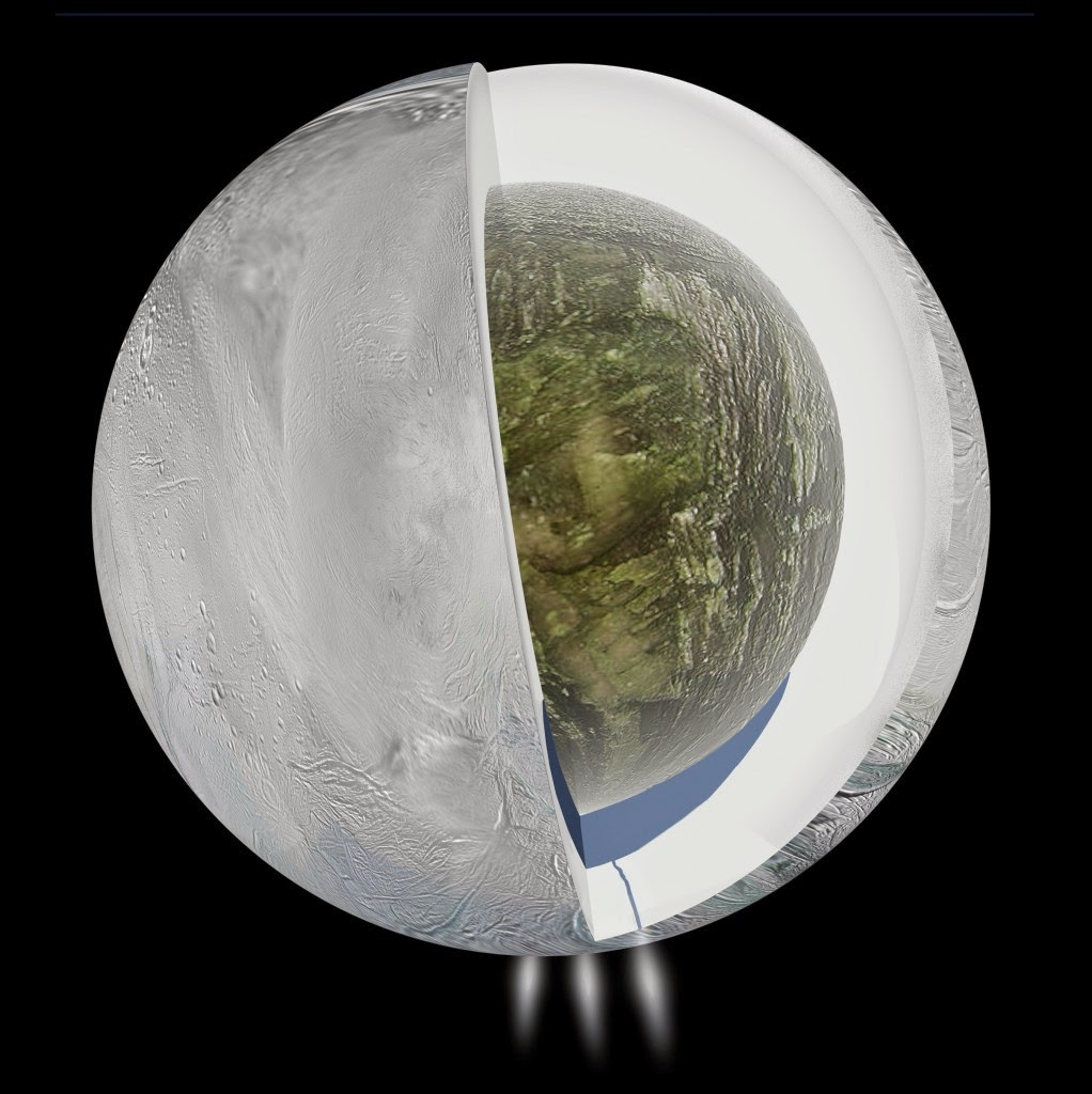 10 фантастических научных открытий, сделанных космическим аппаратом Кассини-Гюйгенс