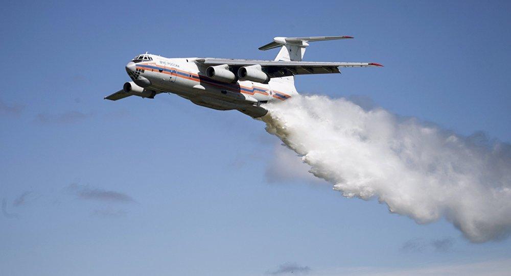 В России ищут пропавший самолет (видео)