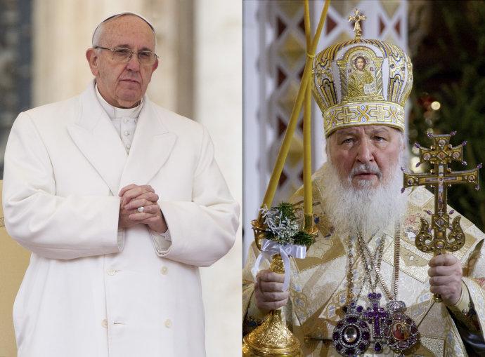 Франциск с Кириллом на Кубе: первая встреча папы и главы РПЦ (видео- трансляция)
