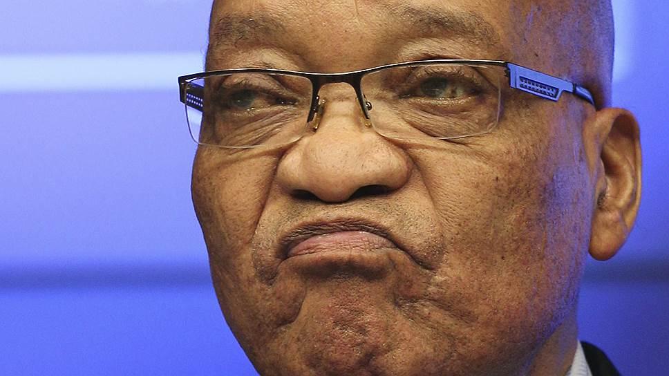 «Южноафриканское Межигорье» вылезло боком президенту ЮАР