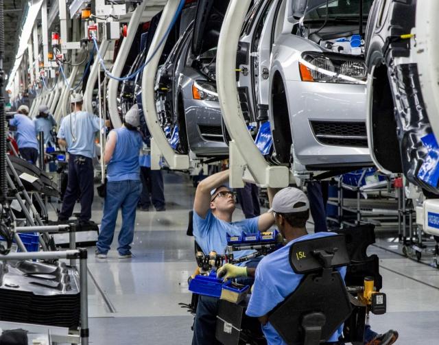 В Германии упали заказы для промышленности