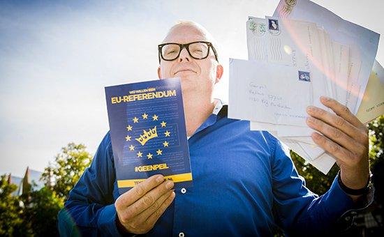 Голландия на референдум по ассоциации Украина-ЕС потратит 30 млн