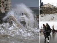 Великобритания оправляется от шторма Кэти (видео)
