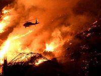 Кипр не может справиться с лесным пожаром (видео)