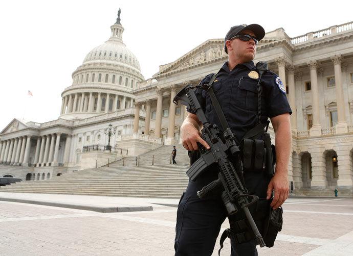 Стрельба в здании Капитолия в Вашингтоне