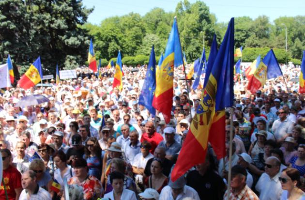 Обзор молдавских протестов против государственной власти