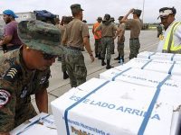 В Эквадор прибывает помощь из соседних государств, в том числе – из самых бедных (видео)