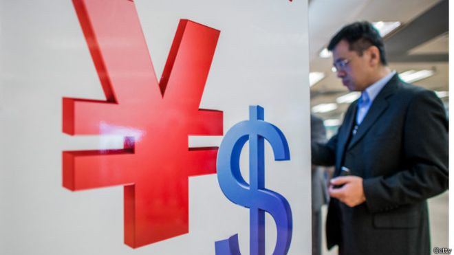 Самая крупная девальвация юаня за три года в КНР
