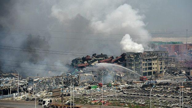 Предопределенность катастрофы в Тяньцзине