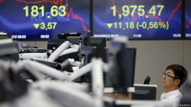 Китайские акции снова падают в цене