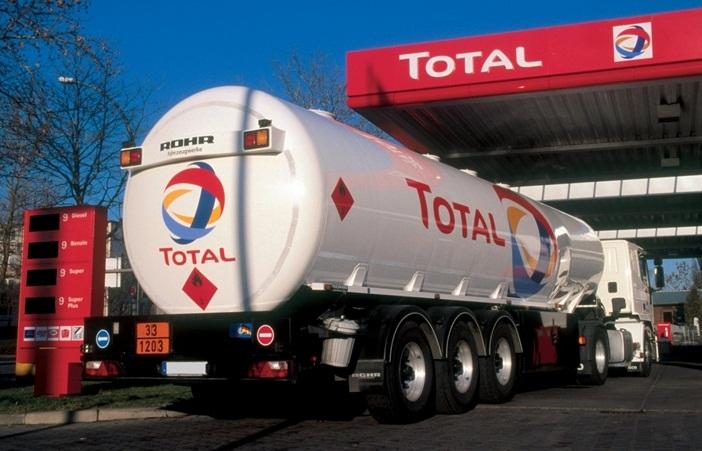 Total противится падению цен на нефть