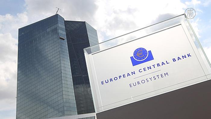 В еврозоне - отрицательная инфляция