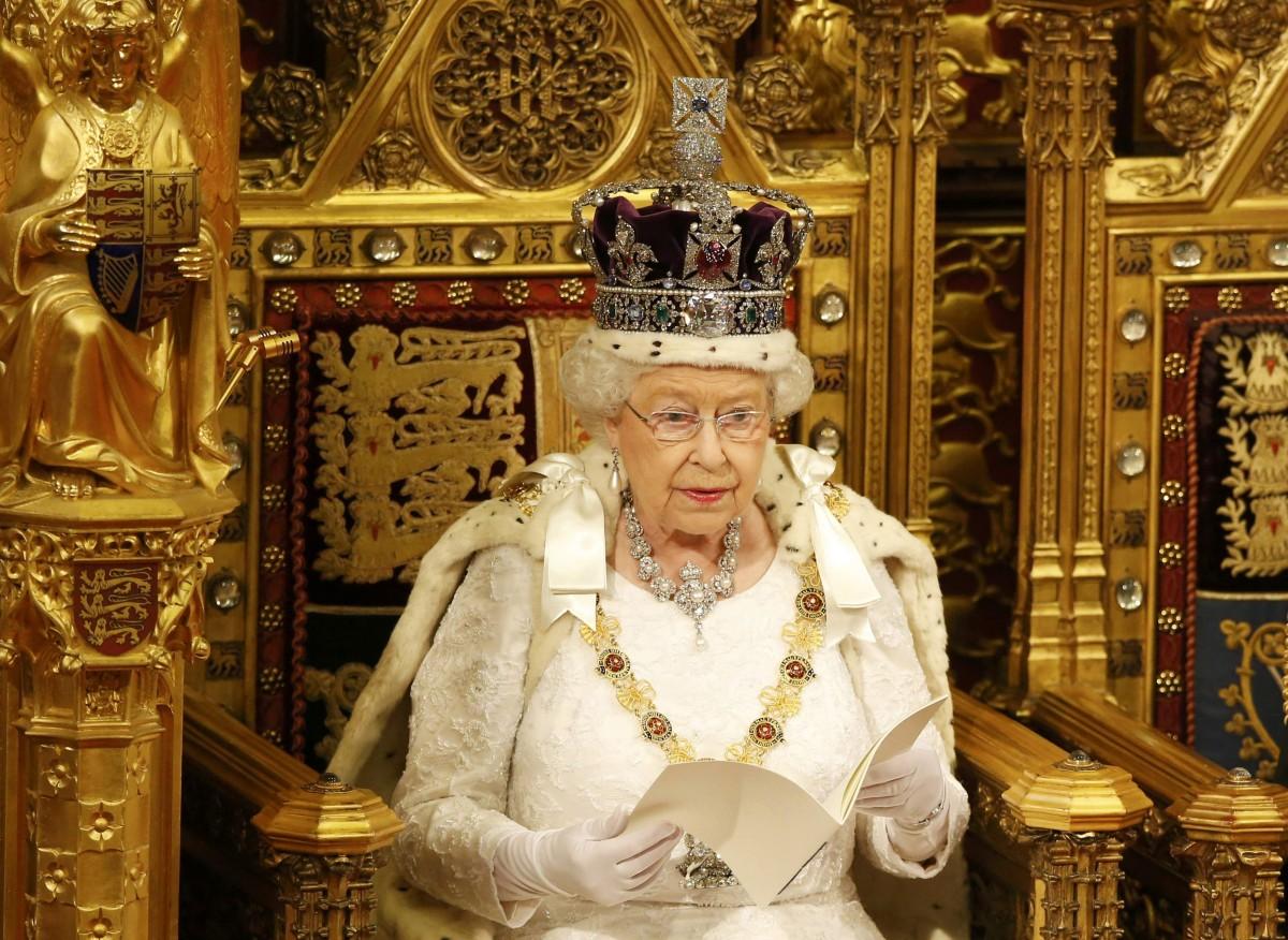 Королева Елизавета II упомянула Украину в своей тронной речи в парламенте