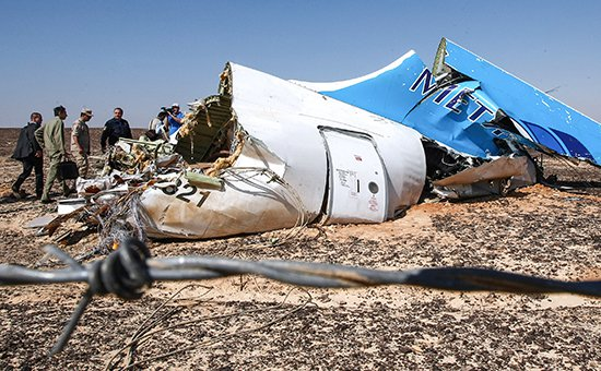 В России признали терактом крушение А321 в Египте
