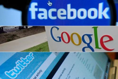 Россия грозит ввести санкции против Facebook, Google и Twitter