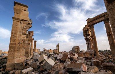 Сирийская Пальмира после ИГИЛ: античный город будут реставрировать