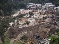 В Гватемале в результате оползня погибло 130 человек