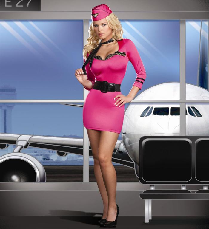Стюардесса заработала 1 млн долларов, занимаясь сексом с пассажирами