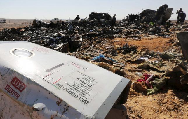 Египет не увидел теракта в крушении российского лайнера
