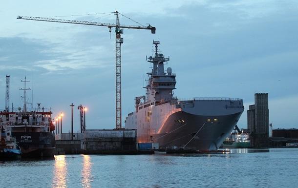 Франция передала России Франции часть технологий строительства Мистралей