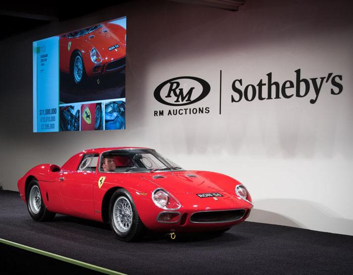 В США ушла с молотка самая дорогая в мире коллекция автомобилей
