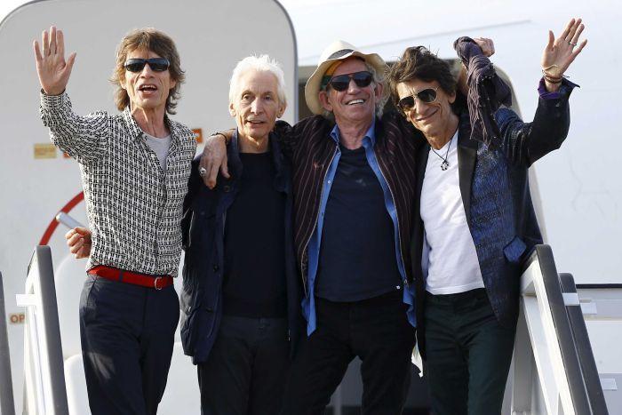 Rolling Stones впервые выступит на Кубе (видео)