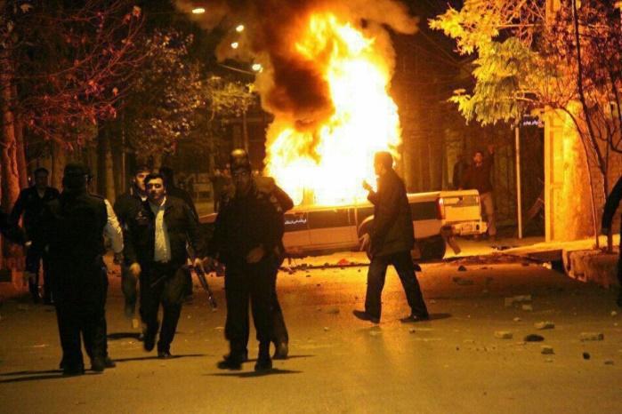 450 человек задержаны в Иранеиз-за антиправительственных протестов