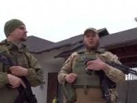 Бойцы «Азова» вывесил флаг США над Широкино, чтобы потролить Киселева