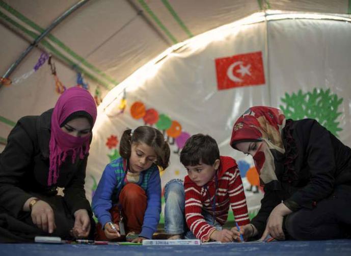 Турция получит от Евросоюза три миллиарда на сирийских беженцев
