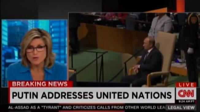 На CNN Путина назвали Борисом Ельциным (видео)