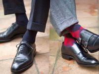 Брюки, носки и обувь: правильное сочетание в любых образах