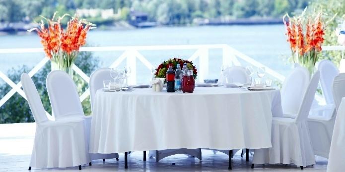 Ресторан на природе - стильно и со вкусом