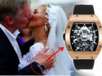 Пресс-секретарь президента РФ и его часы за 38 миллионов