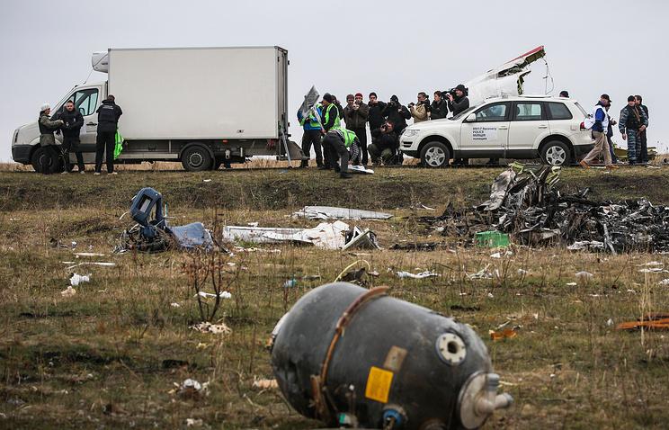 Голландские следователи по делу сбитого Боинга проводят секретные встречи в Москве