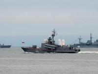 Российские военные катера принудили турецкий торговый корабль изменить курс