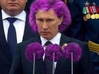 В сети смеются над Путиным и Днем Победы в России