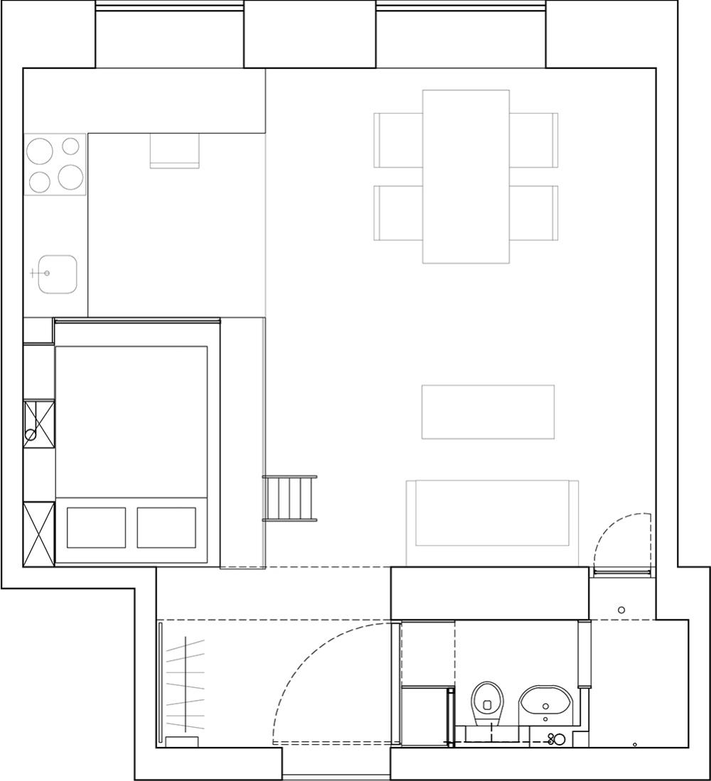 Преимущества и недостатки планировки квартиры-студии