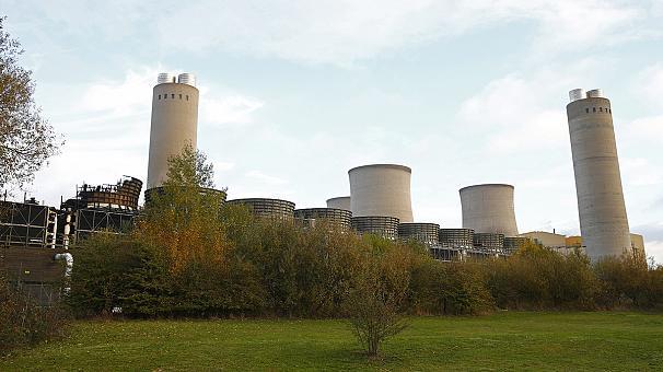Взрыв на электростанции в Великобритании