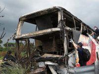 ДТП на Тайване: 26 человек сгорели заживо