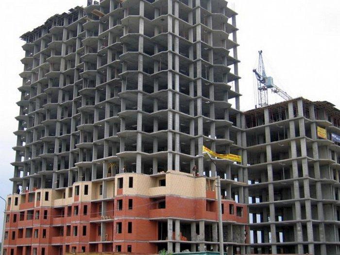 Монолитно-каркасная схема: преимущества каркасного строительства многоэтажных домов