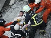 Тайвань: трех людей извлекли живыми из-под завалов за двое суток после землетрясения