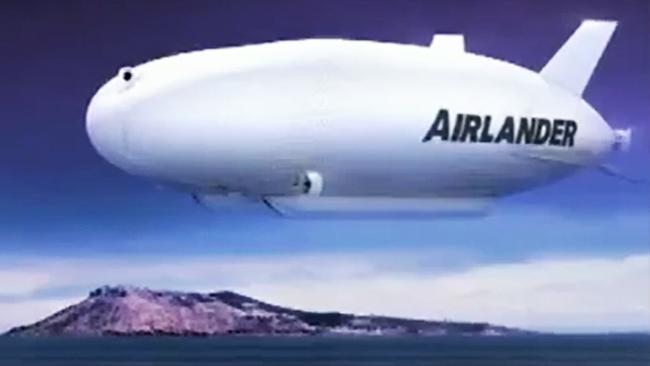 В Британии представили крупнейший в мире дирижабль Airlander-10