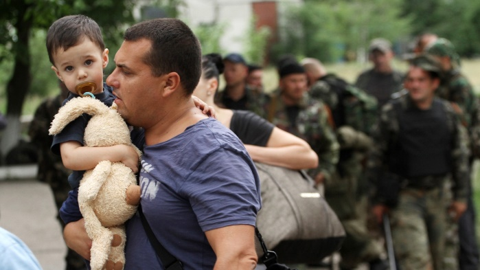 70% переселенцев вынуждены вернуться на оккупированные территории Украины, — ООН