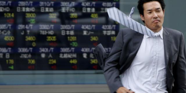 Резкий рост японского биржевого индекса Nikkei